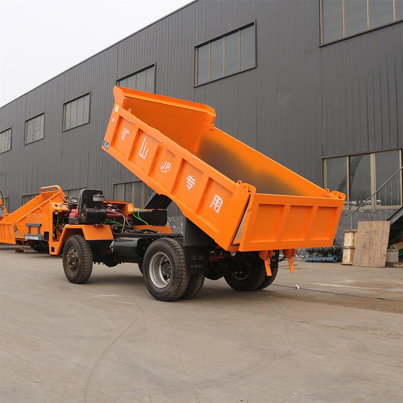 矿用运输车的特性及结构