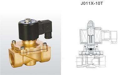 埃美柯电磁阀-J011X-10T 黄铜电磁阀
