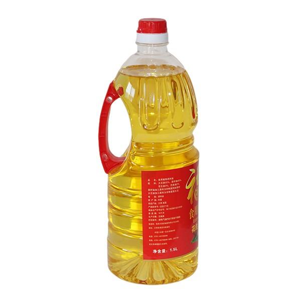 食用植物调和油花生芝麻浓香型 1.5L