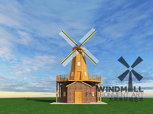 新式景观风车