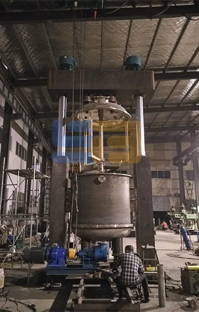 Complete production line of silicon adhesive