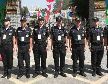 在社会的进步中保安服务起到了很大作用