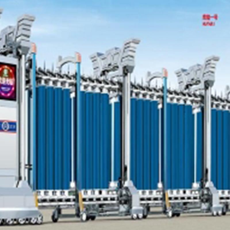 鄂尔多斯电动伸缩门厂家出售安装