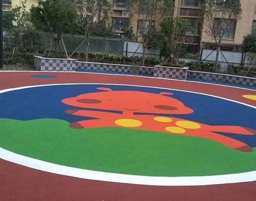 幼儿园塑胶地面的特点说明