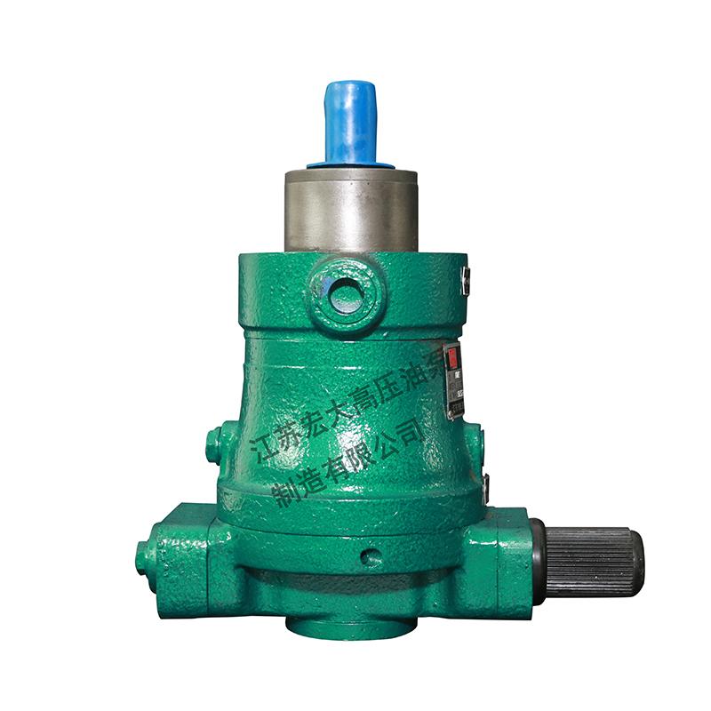 柱塞泵厂家分享其两种代表性结构形式