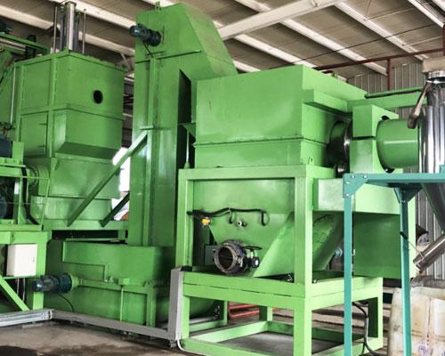 200L闭口铁(塑料)桶破碎生产线(小线)