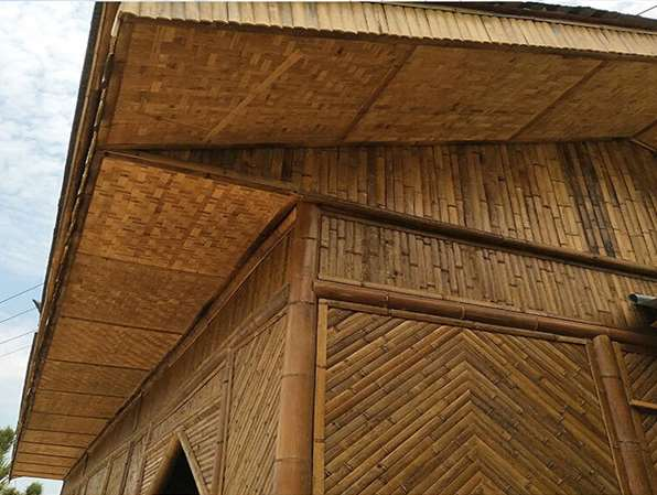 竹房子建筑在造型上要要富有创意