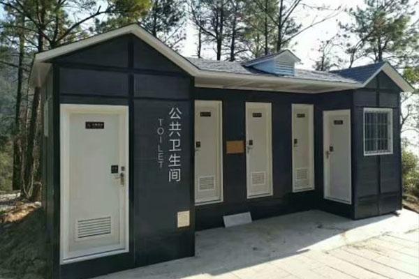 多厕位生态移动厕所