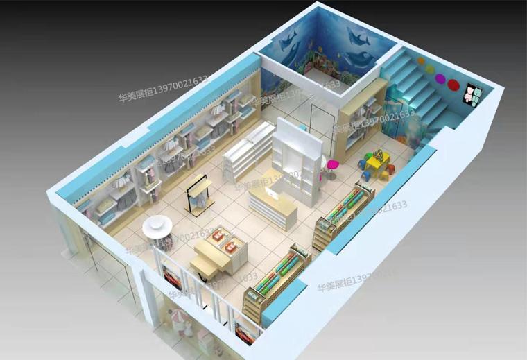 双凫铺咿呀母婴生活馆设计