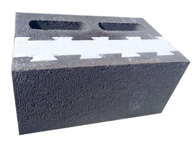 新型复合自保温砌块