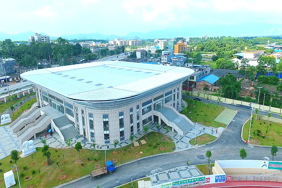賀州鐘山文化體育中心體育館