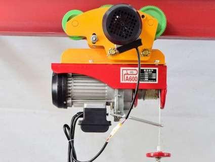 电动葫芦起重机灵活性较强被广泛使用