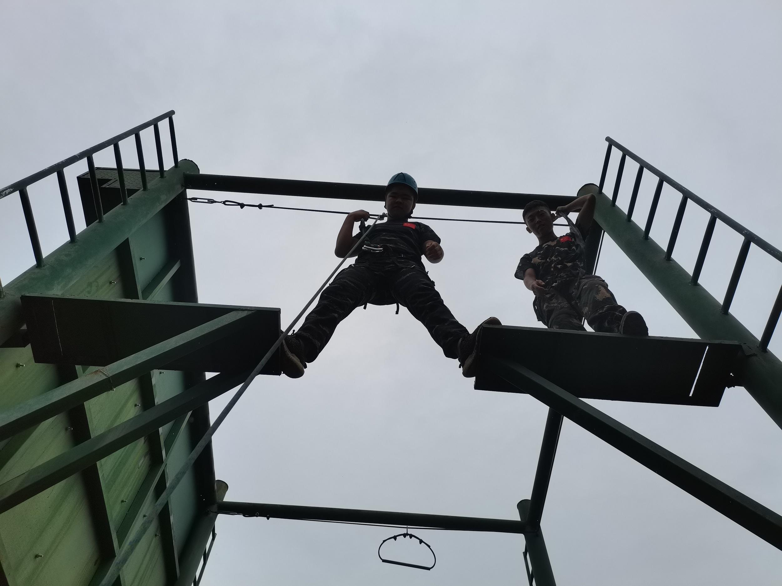 军刃夏令营&高空断桥