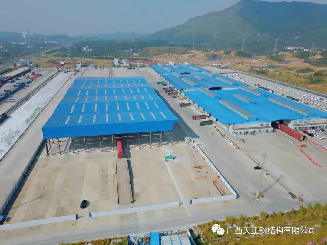 提升综合物流枢纽功能、助力国际旅游胜地建设—— 暨桂林西物流中心一期工程如期完工