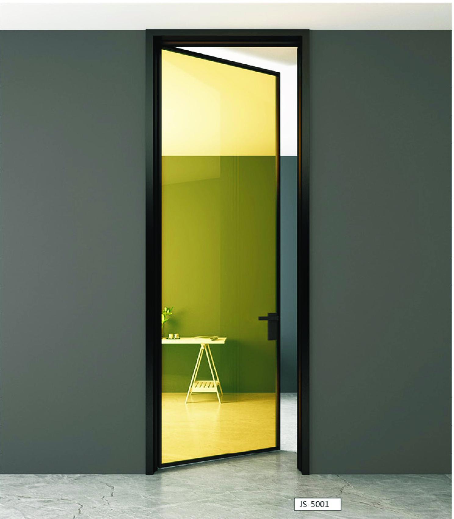 极简铝框门