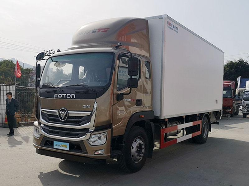 福田 奥铃大黄蜂 260马力 4X2 6.6米冷藏车(BJ5188XLC-A1)