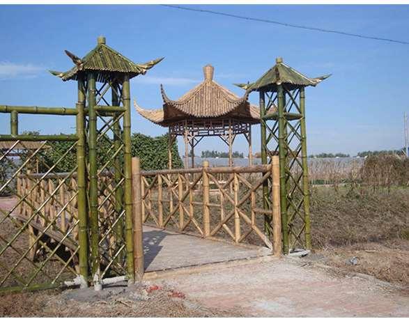 竹篱笆装饰维护须知