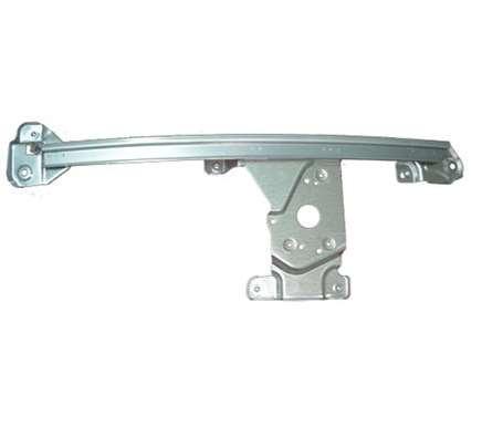 汽车玻璃升降器导轨安装结构制造方法