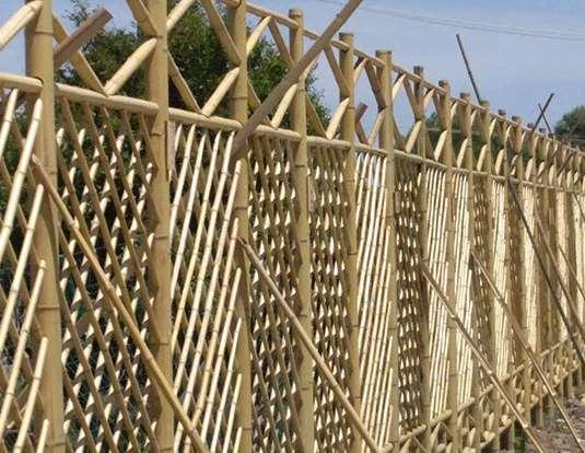 竹篱笆应用情况概述