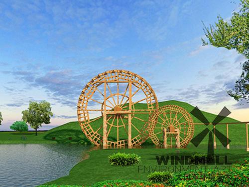 潍坊景观装饰水车