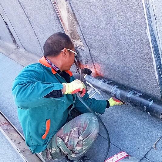 防水卷材施工