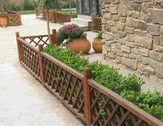 庭院栅栏原来可以这么美