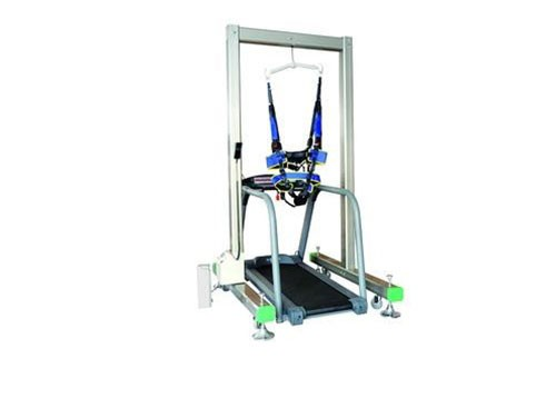 Intelligent simulation gait training machine