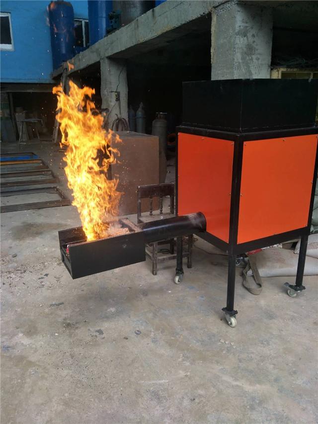 上喷颗粒燃烧机