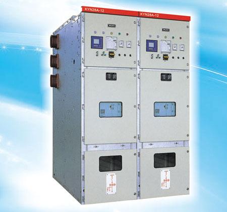 KYN28A-12(GZS1)金属铠装抽出式开关柜