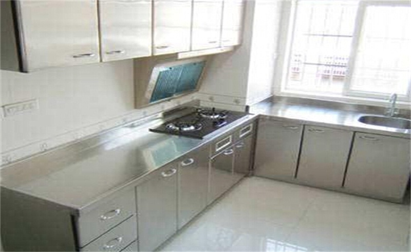 成都不锈钢家用橱柜是由多少个配件组成?