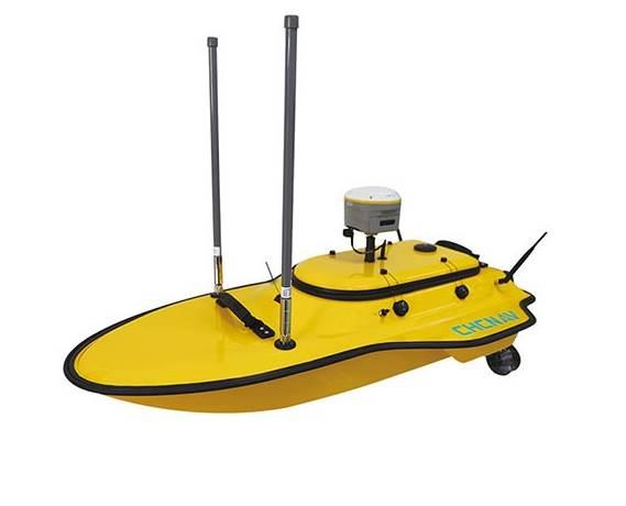 无人船水下地形测量流程