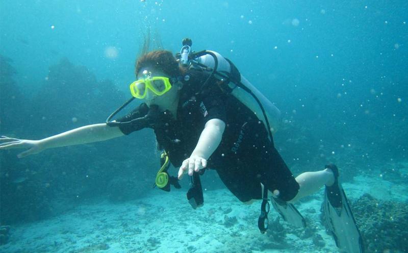 JK潜水为您解读女性潜水员常见的问题