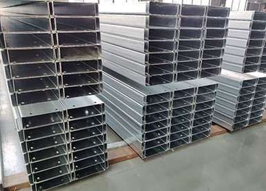 What is the use of galvanized C-section steel