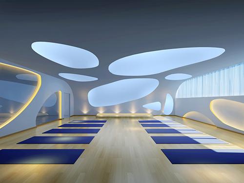 健身房地胶垫,让健身会所室内健身更技术专业