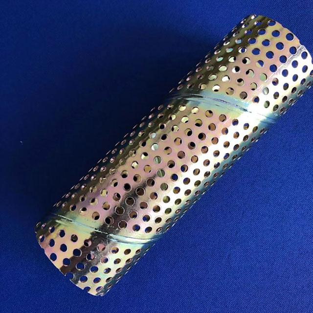 螺旋冲孔焊管