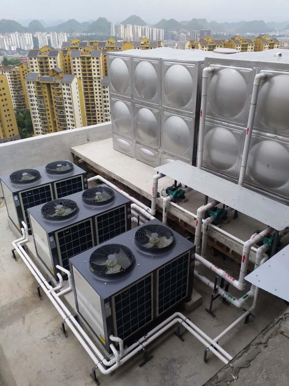 金沙高中大型热水项目