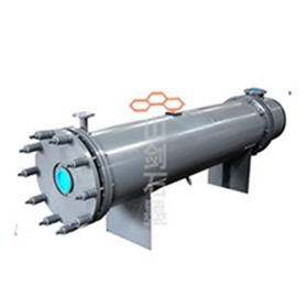 YKD type horizontal graphite heat exchanger with round block hole