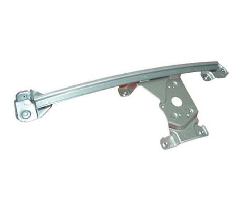 汽车玻璃升降器导轨安装配套结构