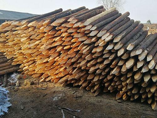 景观木桩工厂