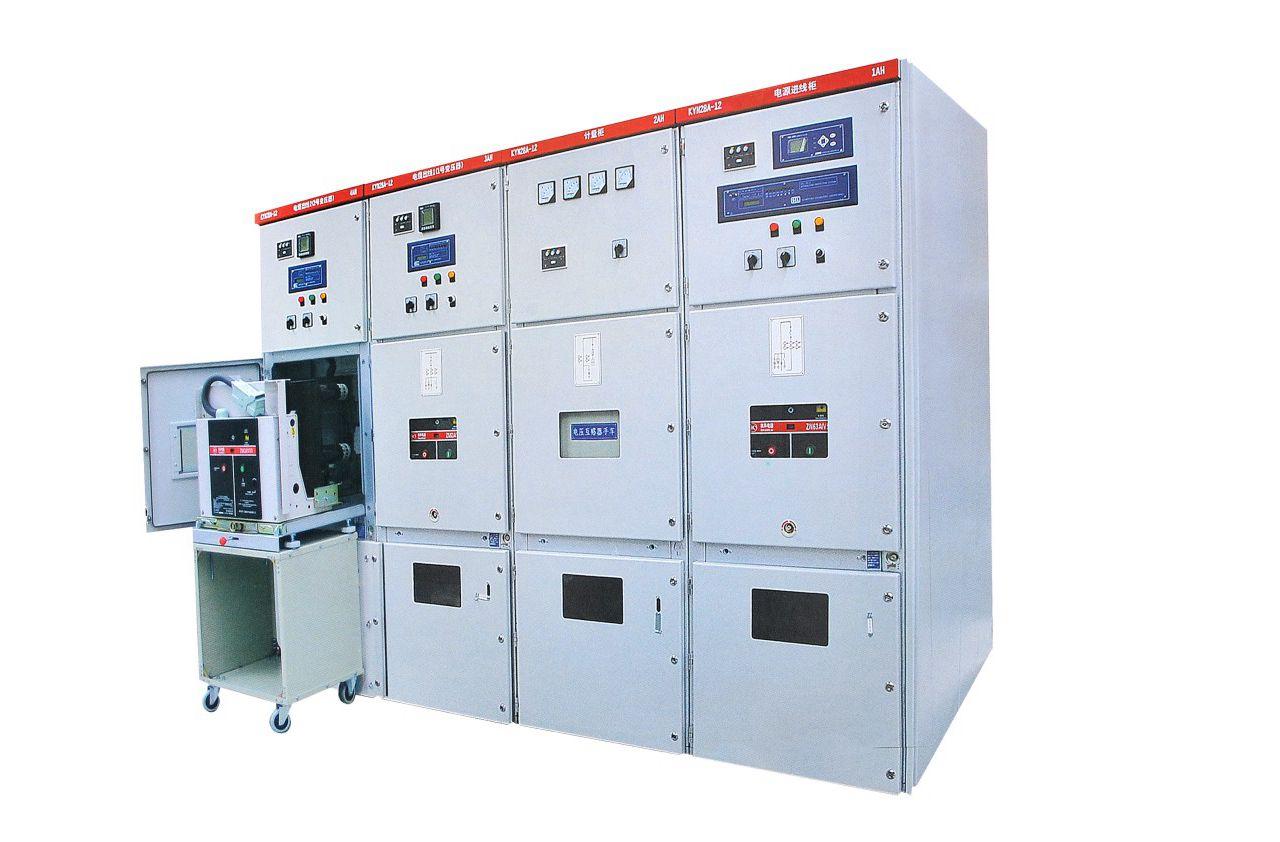 KYN28-12型鎧裝式交流金屬封閉開關設備