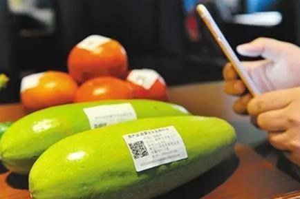 蔬果二维码防伪标签