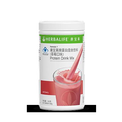 蛋白混合饮料(草莓口味)
