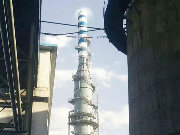脱硫塔的喷淋机构结构分析