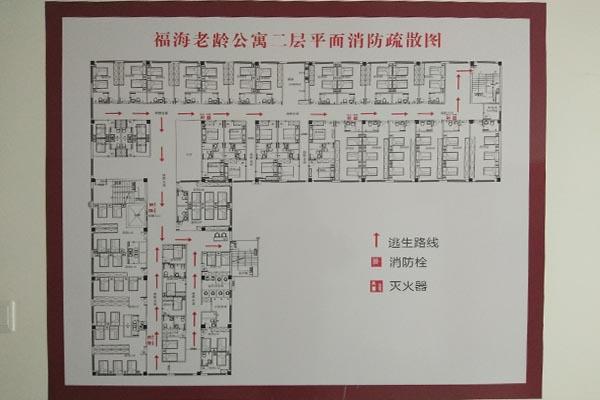 公寓楼层平面图