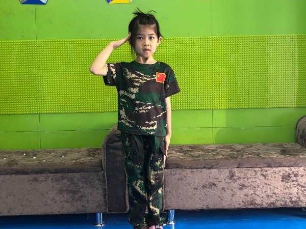 儿童军事体验课