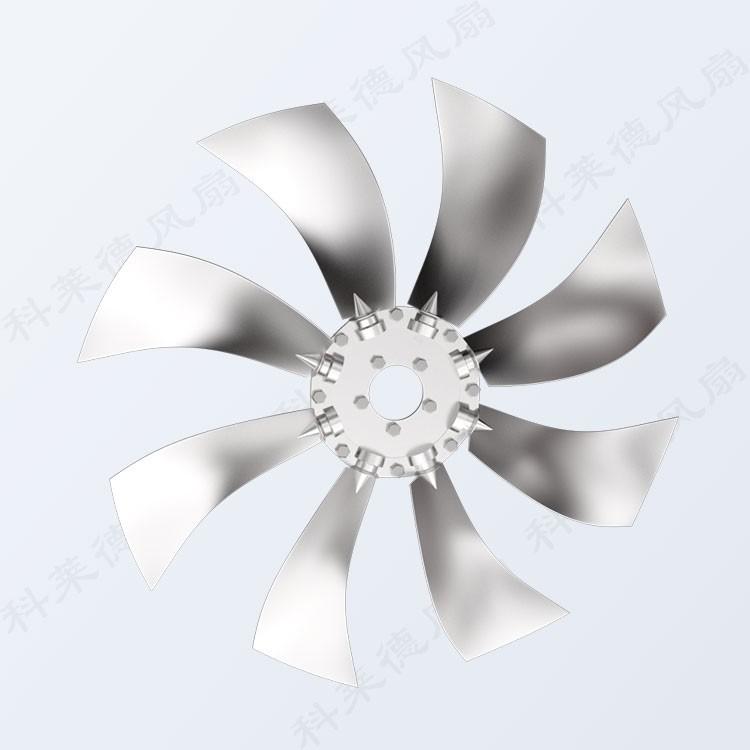 轴流风机叶轮的防变形结构