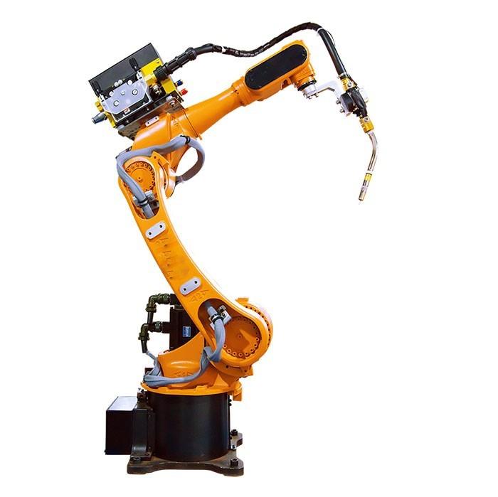 使用焊接机器人可以降低废品率和产品成本提高机床的利用率