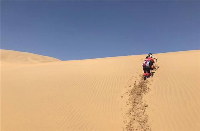 在沙漠迷路的时候,不要乱走动,导游:这样做才对!