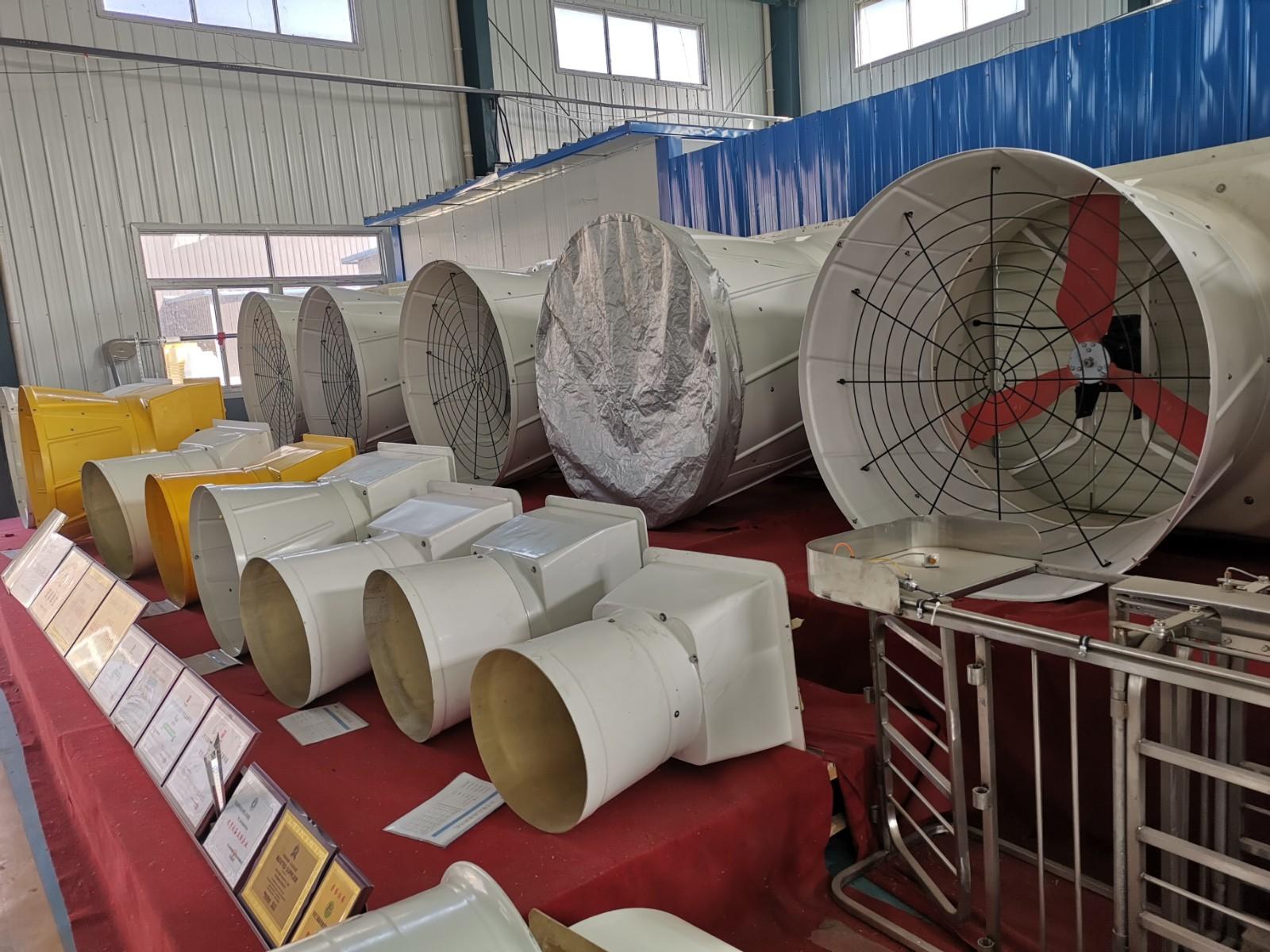 玻璃钢拢风筒风机性能