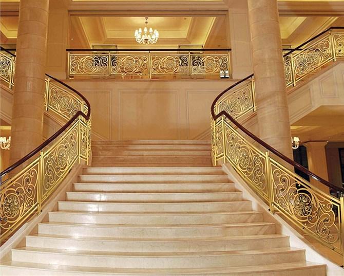 铜艺楼梯厂家定做